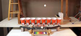 Ping Pong Trickshots play Xylophone