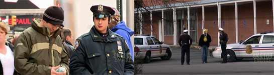 Polizei, Pinkeln, Verarschung