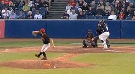 Baseball, Ball ins Gesicht