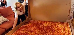 größte lieferbare Pizza der Welt