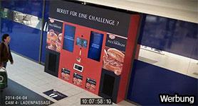 Pizzaburger Vending Machine