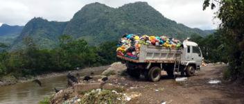 Müll LKW Amazonas