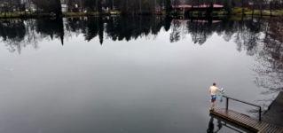 See gefroren laufen Finnland