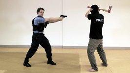 Polizei gegen Axt-Attentäter