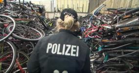Hamburg, Polizei, Fahrrad