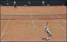 tennis, aufschlag, tennisball, match, tennisschläger