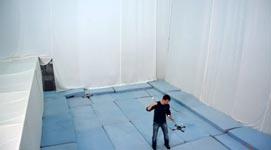 Quadrocopter Pole Acrobatics