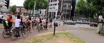 Fahrrad Verkehr Klebeband Ampel