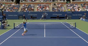 Rafael Nadal,hits ridiculous shot against Ryan Harrison
