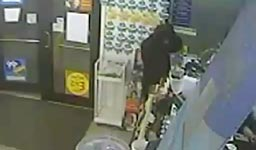 robbery fail, maske