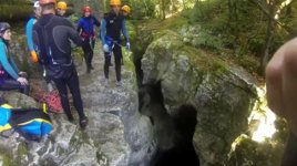 Fehltritt Canyoning