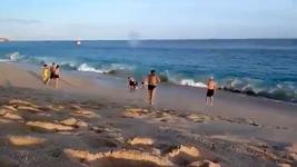 Rettungseinsatz am Strand