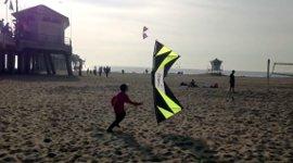 Stunt Kite Drachen Strand