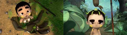Ride Of Passage, animation, Cameleon