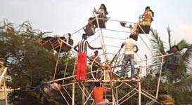 Riesenrad Indien