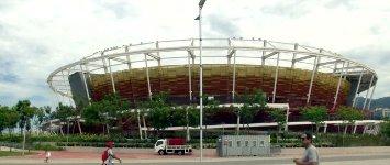 Olympischen Sportstätten Rio Brasilien