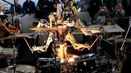 Schlagzeug, Drums, Roboter