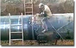 rohr, schweißen, fail, pipeline welding