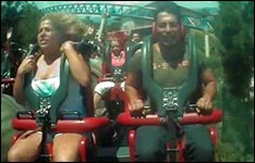 rollercoaster boobs