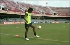 ronaldinho, training, fake