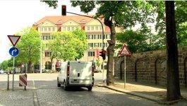 dauerrote Ampel Dresden