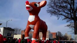 Rudolf, das Rentier, Ballon, Parade
