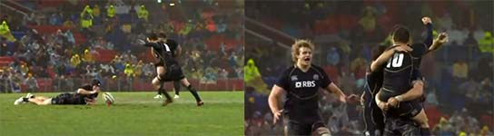 Rugby, Jubel, Celebration, Fail