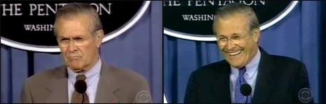 rumsfeld, war in iraq, bush cheney, new york