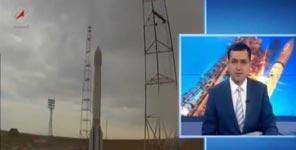 Russland, Rakete, Crash