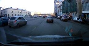 Russland, einparken