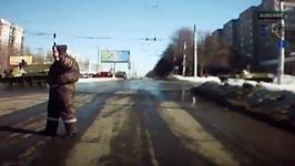 Russischer Panzerfahrer