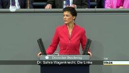 Sahra Wagenknecht Bundeshaushalt 2017