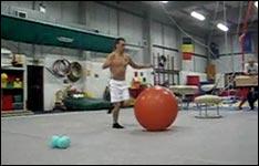 salto gymnastikball
