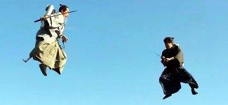 Samurai Kampfkunst Jetpack
