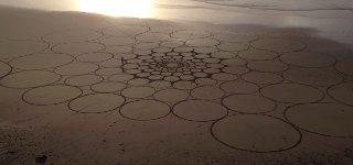 Sandkünstler Jim Denevan
