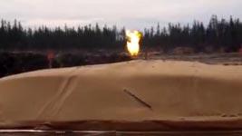 Schießpulver verbrennen