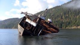Holz, Schiff, Kanada