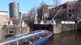 Schiff, Kurve, Amsterdam