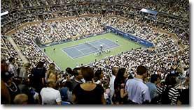 Schlägerei, US-Open 2010, Publikum, Zuschauer, Streit