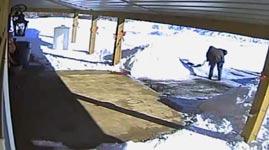 Schnee schaufeln für umsonst
