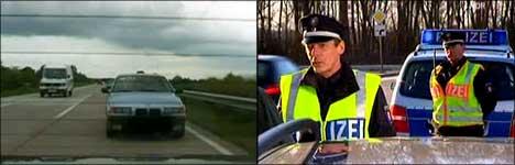 auto fahren, überholen, polizei, flensburg, punkte, fahrverbot
