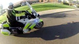Moped Scooter Flucht Polizei