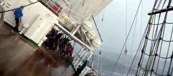 Segelboot Schräglage