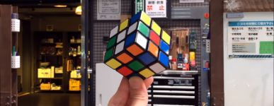 selbst lösende Zauberwürfel Rubik cube