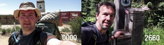 Selfie Wandern Mexico USA Kanada