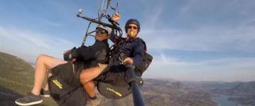 Selfiestick Geier Paraglider