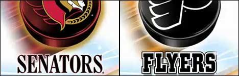 Senators vs Flyers