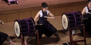 Japanisches Trommeln