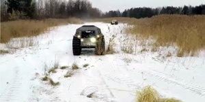 Sherp ATV - russisches Amphibienfahrzeug