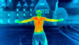 Wärmebildkamera Körper
